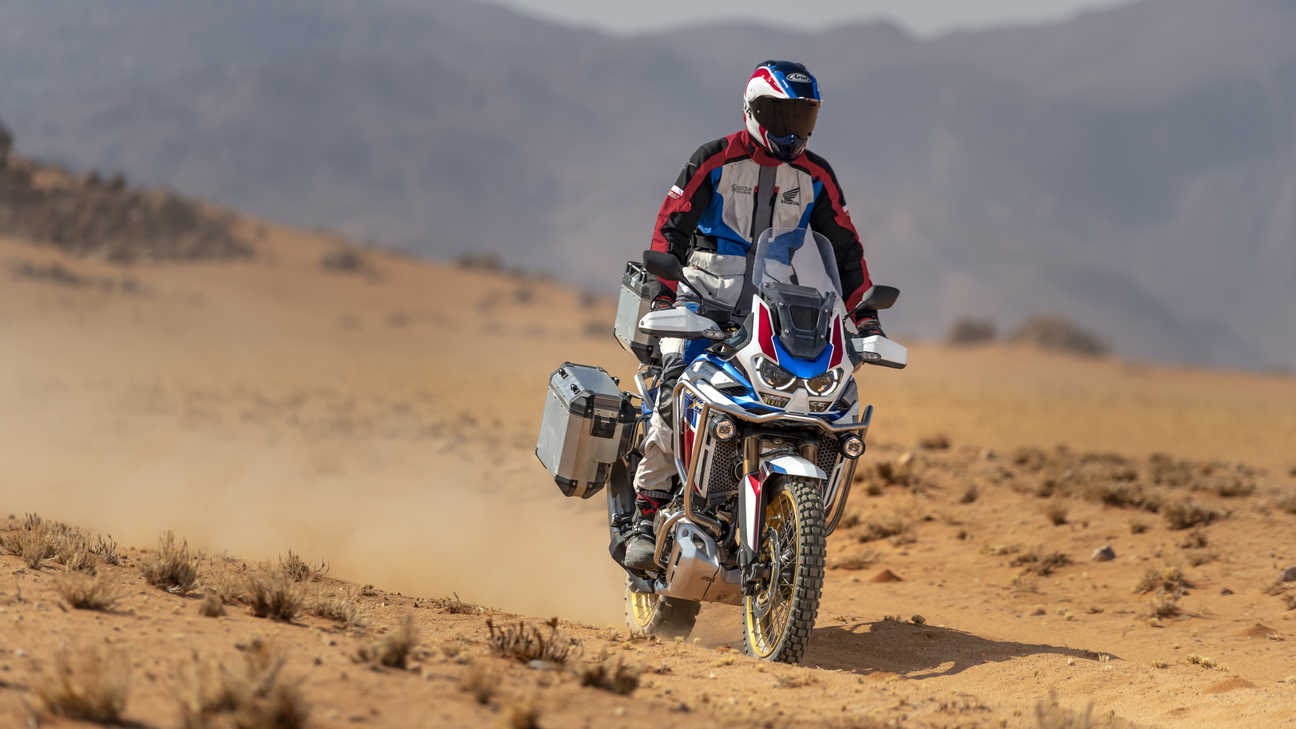 Honda Africa Twin Adventure Sports, zoom su manubrio