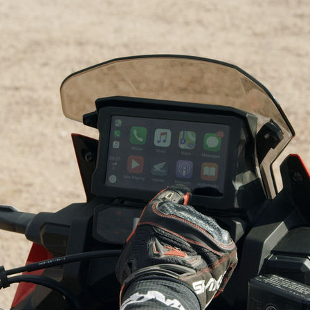 Honda Africa Twin Adventure Sports, zoom sul display TFT