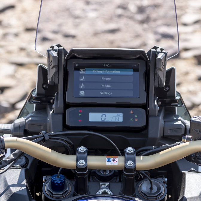 Honda Africa Twin Adventure Sports, zoom su contachilometri