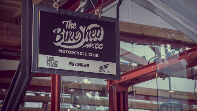Il Bike Shed Show.