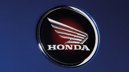 Badge dell'ala Honda.