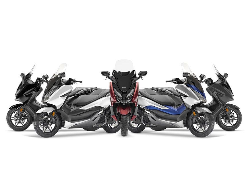 Panoramica Forza 125 Scooter Gamma Moto Honda